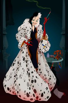 """ Cruela Deville , cruela deville if she doesn't scare you, no evil thing will! """