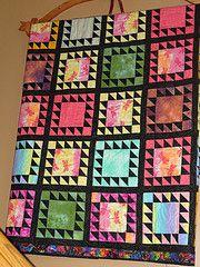 lotto blocks - love it - made by my Mom (Carol Mercer)