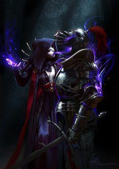 ArtStation - Living Armor, Loles Romero My Fantasy World, Fantasy Rpg, Fantasy Artwork, Character Drawing, Character Concept, Character Design, Ghost Armor, Monster Characters, Art Portfolio