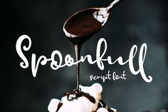 Spoonfull Script Font by Creativeqube Design on @creativemarket