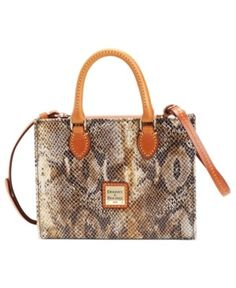 Dooney & Bourke / Mini Janine Python Satchel