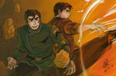 I love Bolin and Iroh II's bromance. just saying. Reckless by ~bobangeba on deviantART