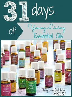 31-Days-Young-Living-Essential-Oils Want to purchase oils or sign up for wholesale prices? https://www.youngliving.com/signup/?site=US&sponsorid=1534394&enrollerid=1534394