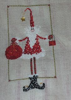 Naughty.... or Nice?? Just finished this cute Santa by Lavender Wings, never the wrong season to be jolly, don't you think?