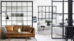 Inred med glasvägg – fina trenden på 13 olika sätt