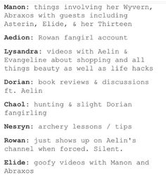 -Throne of glass characters as youtubers (Sarah j Mass) << LOL SLIGHT DORIAN FANGIRLING