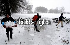 Igloo again (one that has a roof)