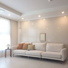 Living Room Korean Style, Korean Apartment Interior, Luxury Kitchens, Modern House Design, Living Room Interior, Fandom Kpop, Room Decor, Mansion, Magnolia
