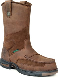 a7dd75c68f4 43 Best Boots in Stock images | Georgia boots, Brown leather, Tan ...