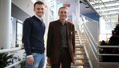 Jérémy Vanhelst et le professeur Frédéric Gottrand : « Cette étude est exceptionnelle sur les plans de la génétique et de la biologie. »  VDNPQR