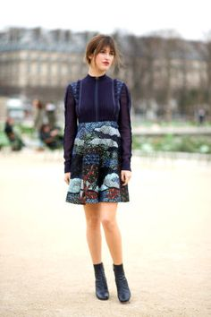 211 incredibly chic street style looks spotted at Paris Fashion Week: