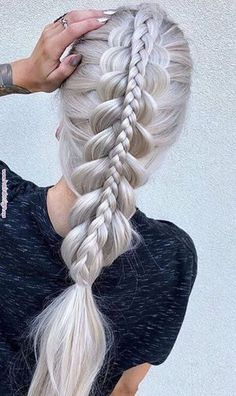 Dutch Braid Tutorial for 2019 Latest Season 2019 Dutch Braid Tutorial; Half-up Dutch Braid; Ponytail with Dutch Braid; Try On Hairstyles, Box Braids Hairstyles, African Hairstyles, Hairstyle Ideas, Hairstyles 2018, Long Hair Braided Hairstyles, Evening Hairstyles, Updo Hairstyle, Medium Hairstyles