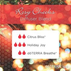 Breathe in the joy of the holidays and make the most of every blissful moment! To experience this wonderful blend, come in to the doTERRA® Spa this week or diffuse in your own home!