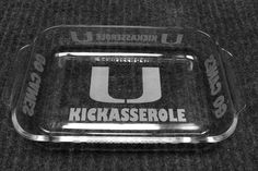 University of Miami Kickasserole by IslandGraphics on Etsy