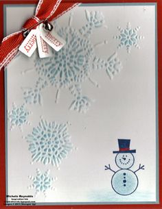Merry Snowman Button Buddies