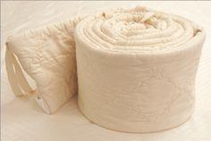 Organic Cotton Crib Bumper by Eco Baby