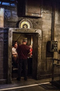 The Disney cast members at the Tower of Terror absolutely make that ride the best.