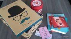 Un cadeau original pour un futur papa: la boîte à papa.