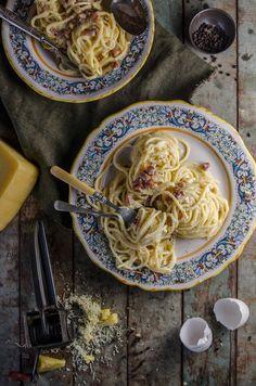 Spaghetti alla Carbonara   Chew Town Food Blog