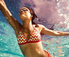 This total body workout will burn off calories and fat as you workout in the water for a low-impact, but challenging workout.