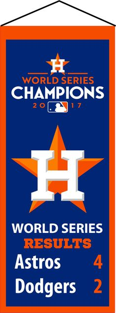 Must have product now available: Houston Astros 20... Get it here! http://www.757sc.com/products/houston-astros-2017-world-series-champions-mini-heritage-6x15-embroidered-banner?utm_campaign=social_autopilot&utm_source=pin&utm_medium=pin