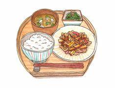 Anatomy Sketches, Art Sketches, Japanese Food Art, Food Sketch, Mini Drawings, Food Painting, Food Drawing, Aesthetic Food, Food Illustrations