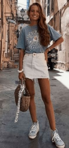 29 Cute Summer Outfits For Women And Teen Girls - The Finest Feed - Thick leg, s. - 29 Cute Summer Outfits For Women And Teen Girls – The Finest Feed – Thick leg, short stature, w - Cute Summer Outfits For Teens, Summer Outfits Women Over 40, Modest Summer Outfits, Cute Casual Outfits, Cute Summer Clothes, Easy Outfits, Teen Summer, Spring Summer, Winter Outfits