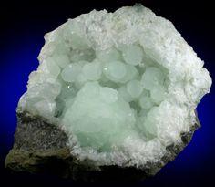 Prehnite from Millington Quarry, Bernards Township, Somerset County, New Jersey