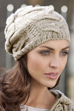 Ravelry: Ferrari Hat pattern by FDC Design Studio. Need one in every color. Love the big cable. must make!