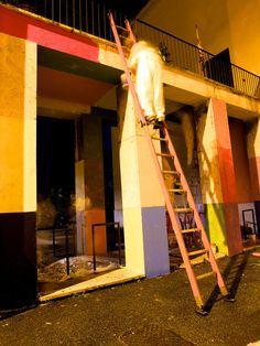 Quartiere del Trullo - Pittori all'opera