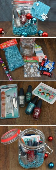 Hidden Gift Card Treasure | DIY Christmas Baskets for Teens