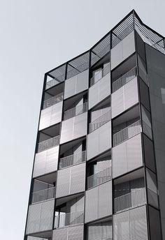 edificio en plaza lesseps, barcelona