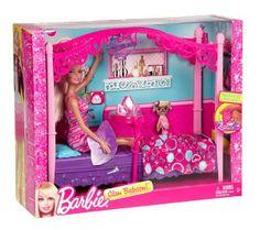 Awesome Mattel X Barbie Puppe u Himmelbett Neu