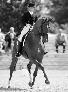 Isabell Werth & Hannes. I'm slightly obsessed with Isabell and Hannes #dressage