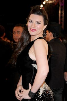 Musician Laura Pausini attends the 2015 Premios Lo Nuestros Awards at American Airlines Arena on February 19, 2015 in Miami, Florida.