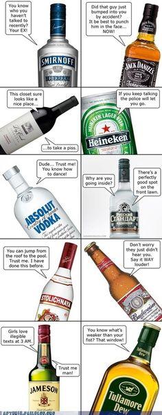 blame alcohol