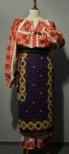 Folk Costume, Costumes, Folk Embroidery, Romania, Sari, Blouse, Fashion, Saree, Moda