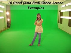 10 Good (And Bad) Green Screen Examples