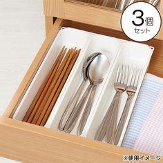 整理トレー 3個セット Tray, Kitchen, Organization, Japan, Getting Organized, Cooking, Organisation, Kitchens, Trays