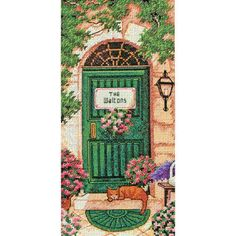 Dimensions Gold Petite Counted Cross Stitch Kit Tuscan Welcome