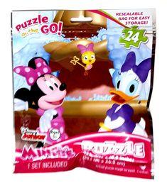 Disney Minnie Mouse Jigsaw Puzzle 24 Piece NEW Sealed Sparkle /& Shine Design