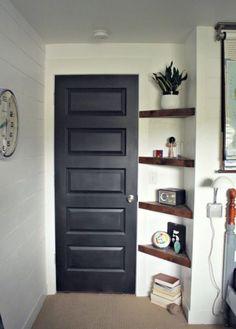 M s de 1000 ideas sobre estantes de esquina en pinterest - Estanterias en esquina ...