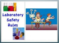 Lab Laboratory Safety Powerpoint and Notes for Teacher and Student ($)