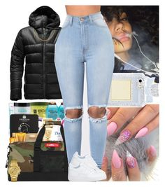 Untitled #722 by msixo on Polyvore featuring polyvore fashion style GUESS The North Face clothing