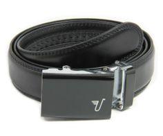 52dad82f14 Mission Belt Men's Ratchet Belt - 35mm Alloy Buckle / Black Leather, Small  (28 - 32) at Amazon Men's Clothing store: Apparel Belts