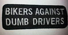 Bikers have more fun patch