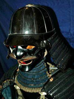 Traditional Samurai Battle Armour Mask