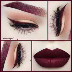 a dark shade blueberry lipstick