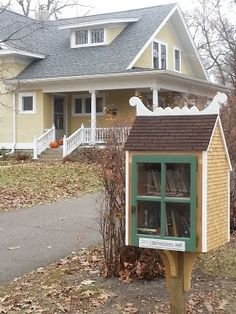 Nordic Little Free Library in Northfield, MN