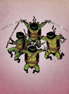 Teenage Mutant Ninja Turtles by Darren Rawlings